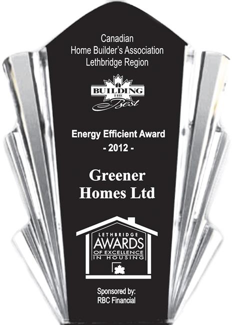 2012 Energy Efficient Award