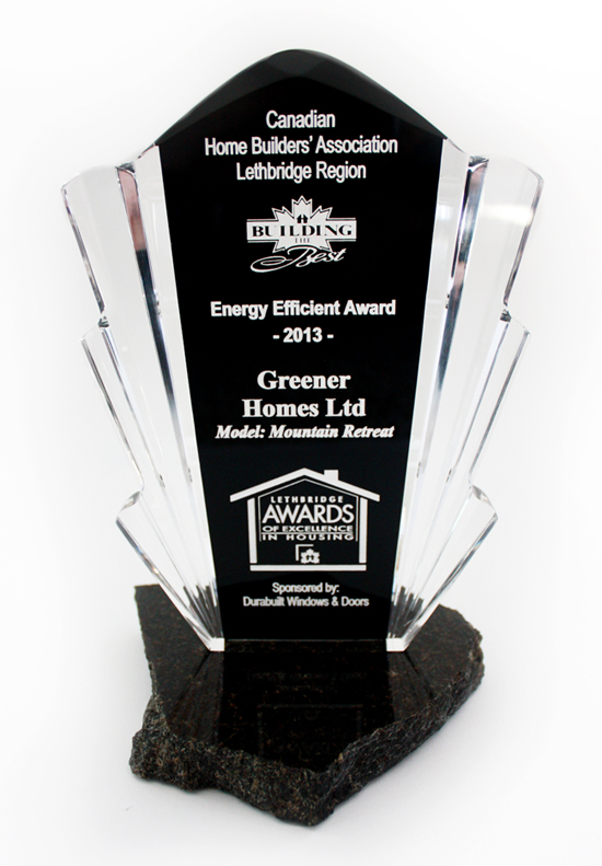 2013 Energy Efficient Award