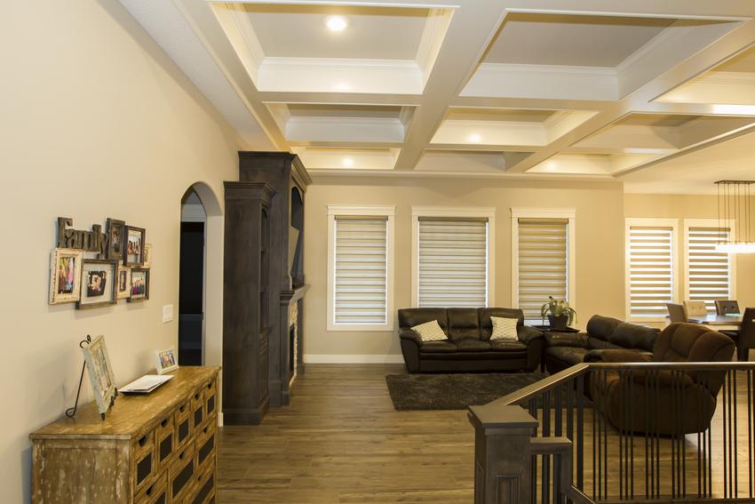 Walkout Bungalow Living Room