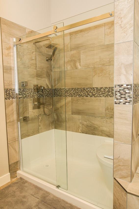 Walkout Bungalow Shower