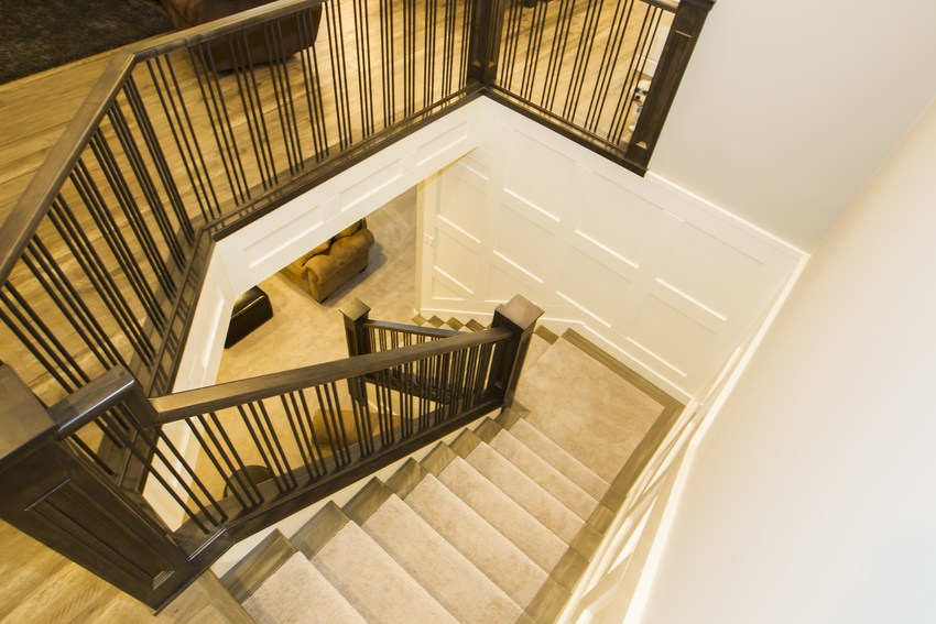 Walkout Bungalow Stairs