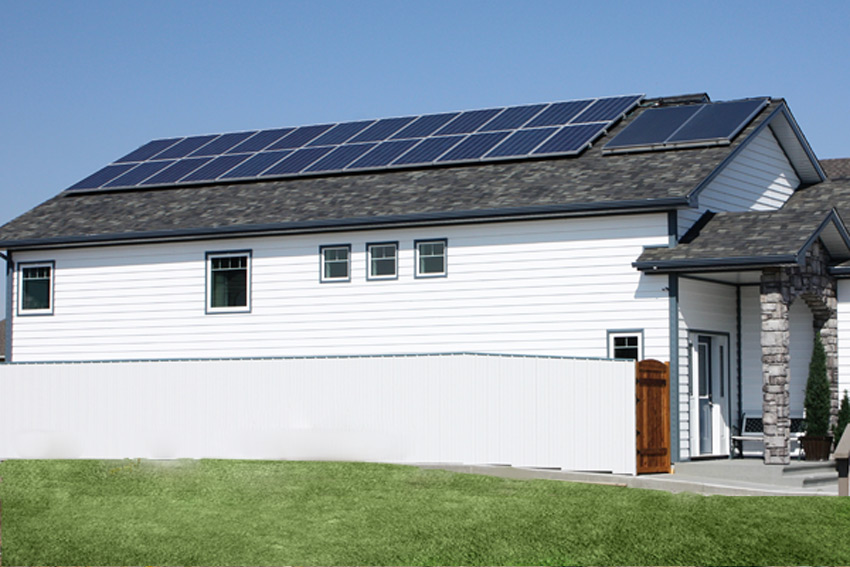 Show Home Solar Panels