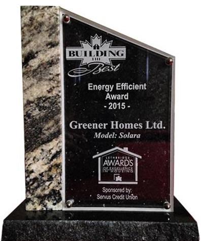 Energy Efficient Award 2015