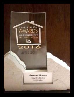 CHBA Award Finalist 2016