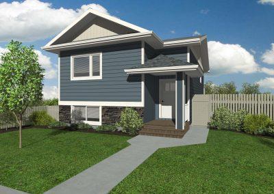 #662 - 46th Ave - Coalhurst - 3D Rendering