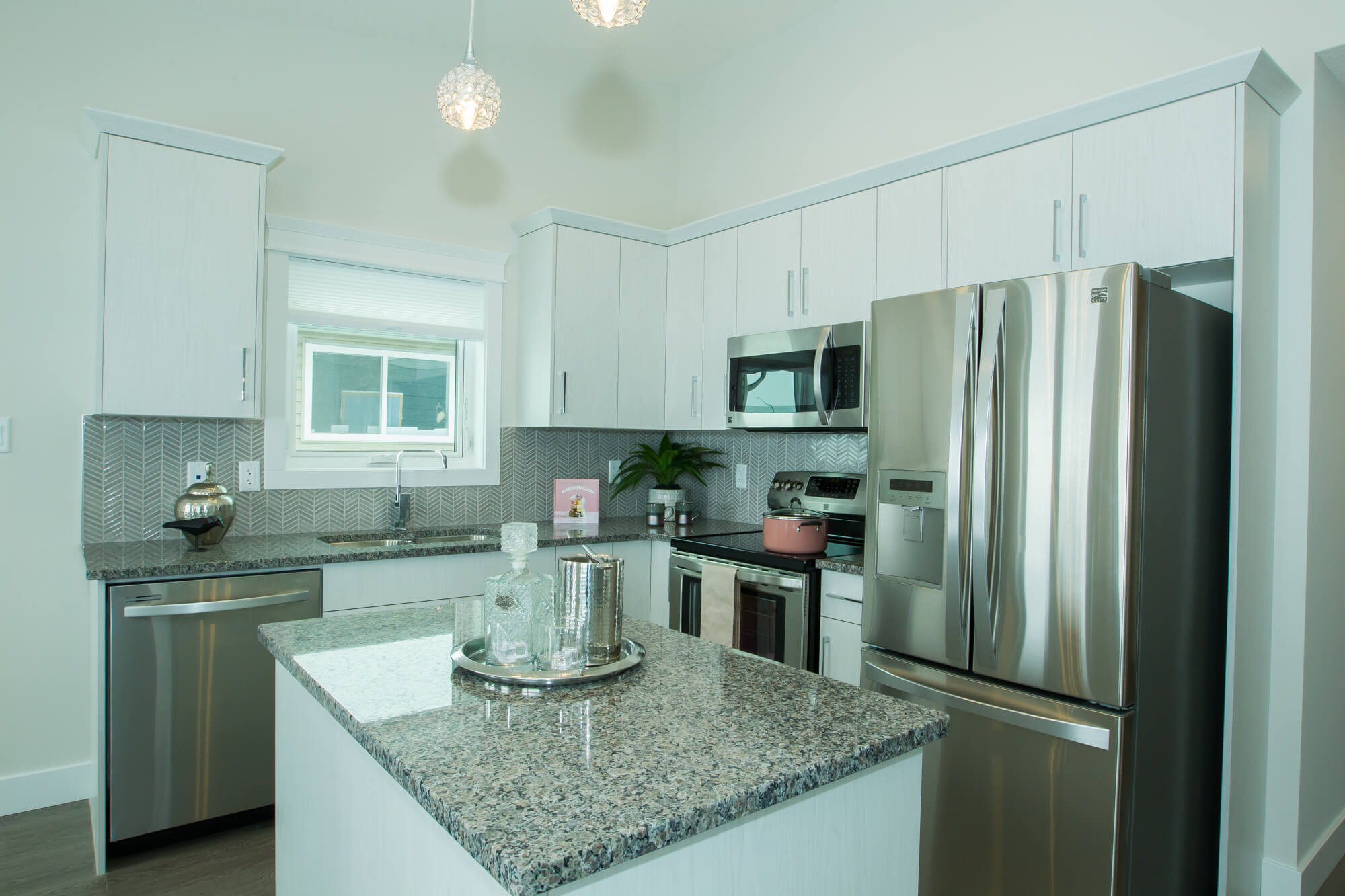 Custom Kitchen in Healthy, Energy-Efficient Lethbridge Home