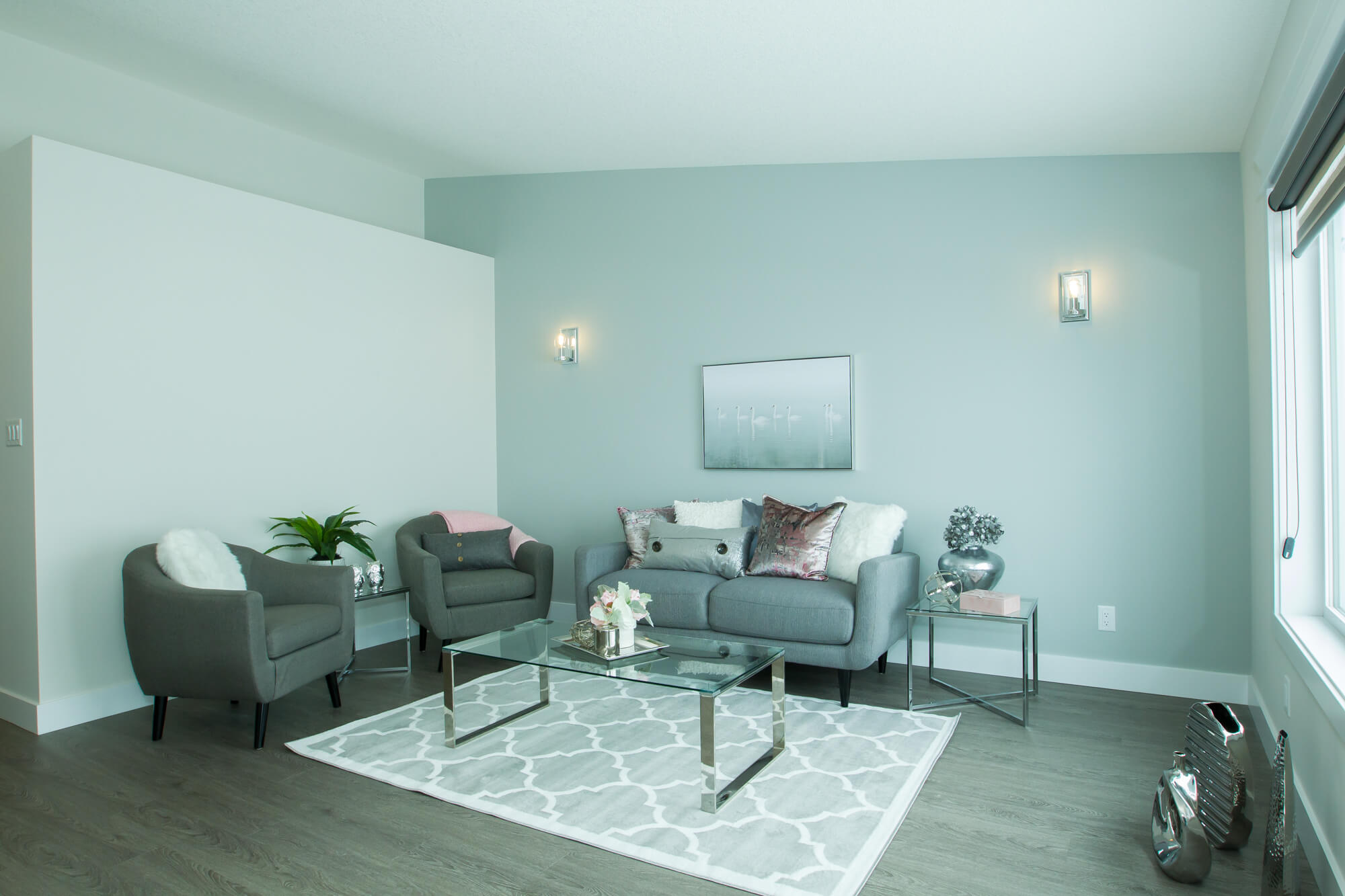 A Healthy Home with a Spacious Living Room