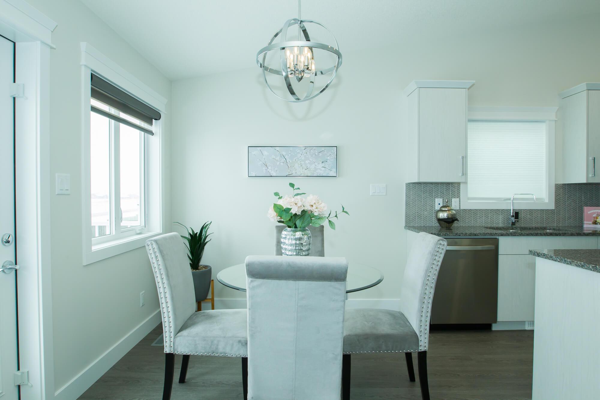 Beautiful Bright Kitchen in Custom, Healthy Lethbridge Home