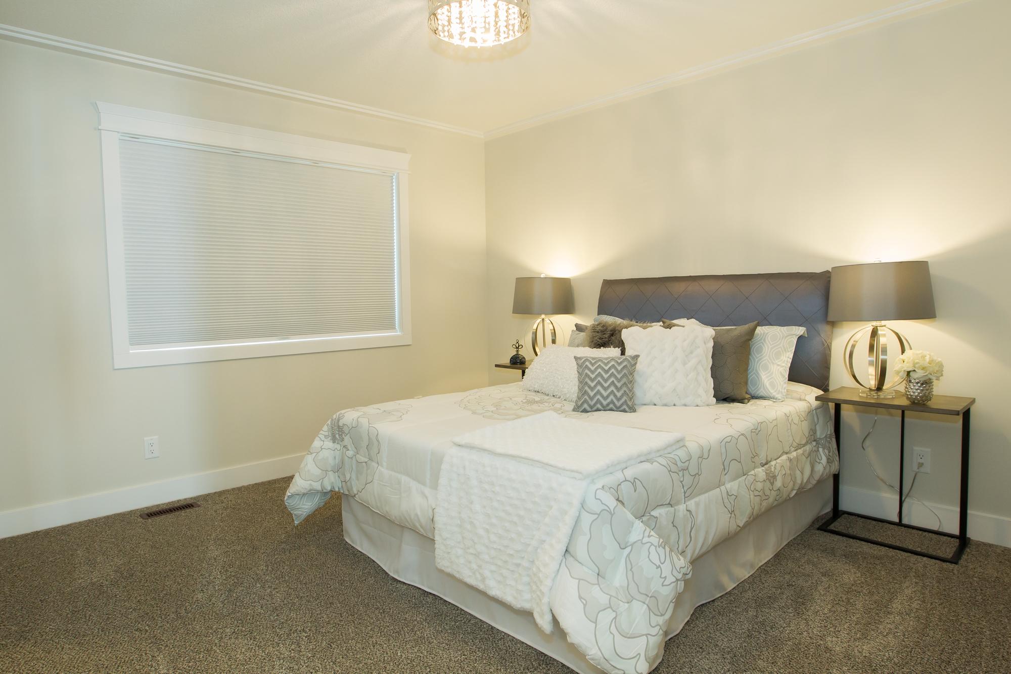 Custom Master Bedroom in Energy Efficient Home