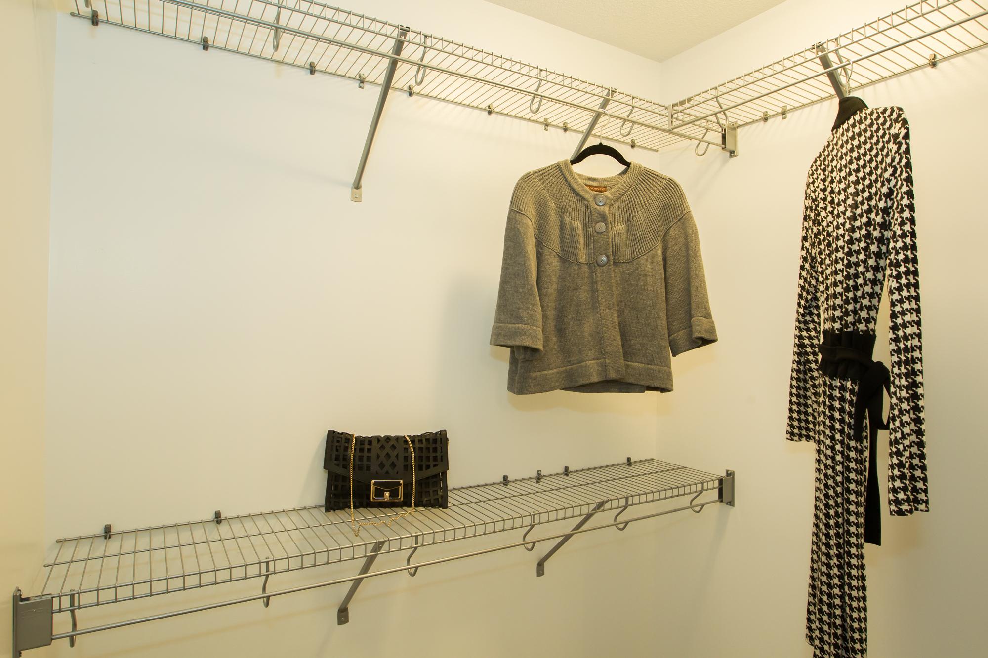 Custom Walk In Closet in Lethbridge Home