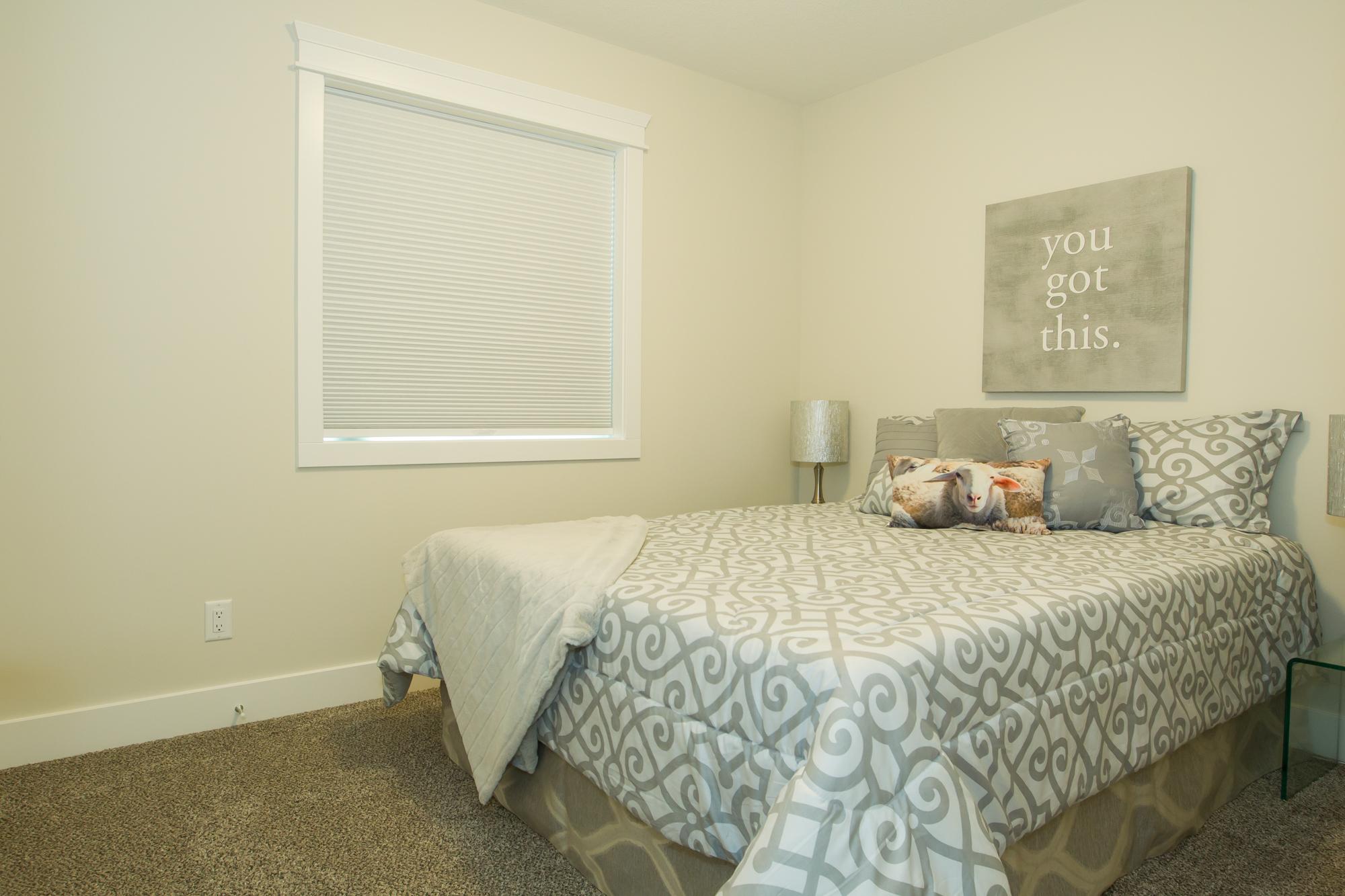 Custom Bedroom in Energy-Efficient Home