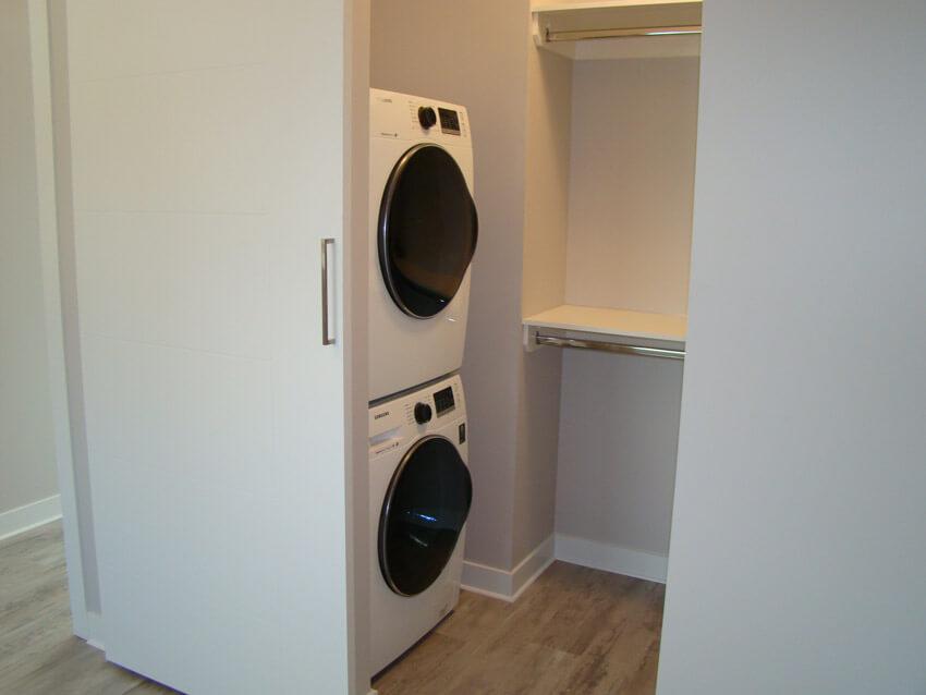 Laundry Room of Custom Lethbridge Home