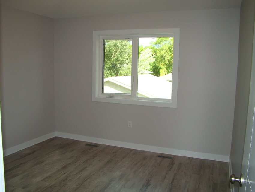 Bedroom in Custom Lethbridge Home