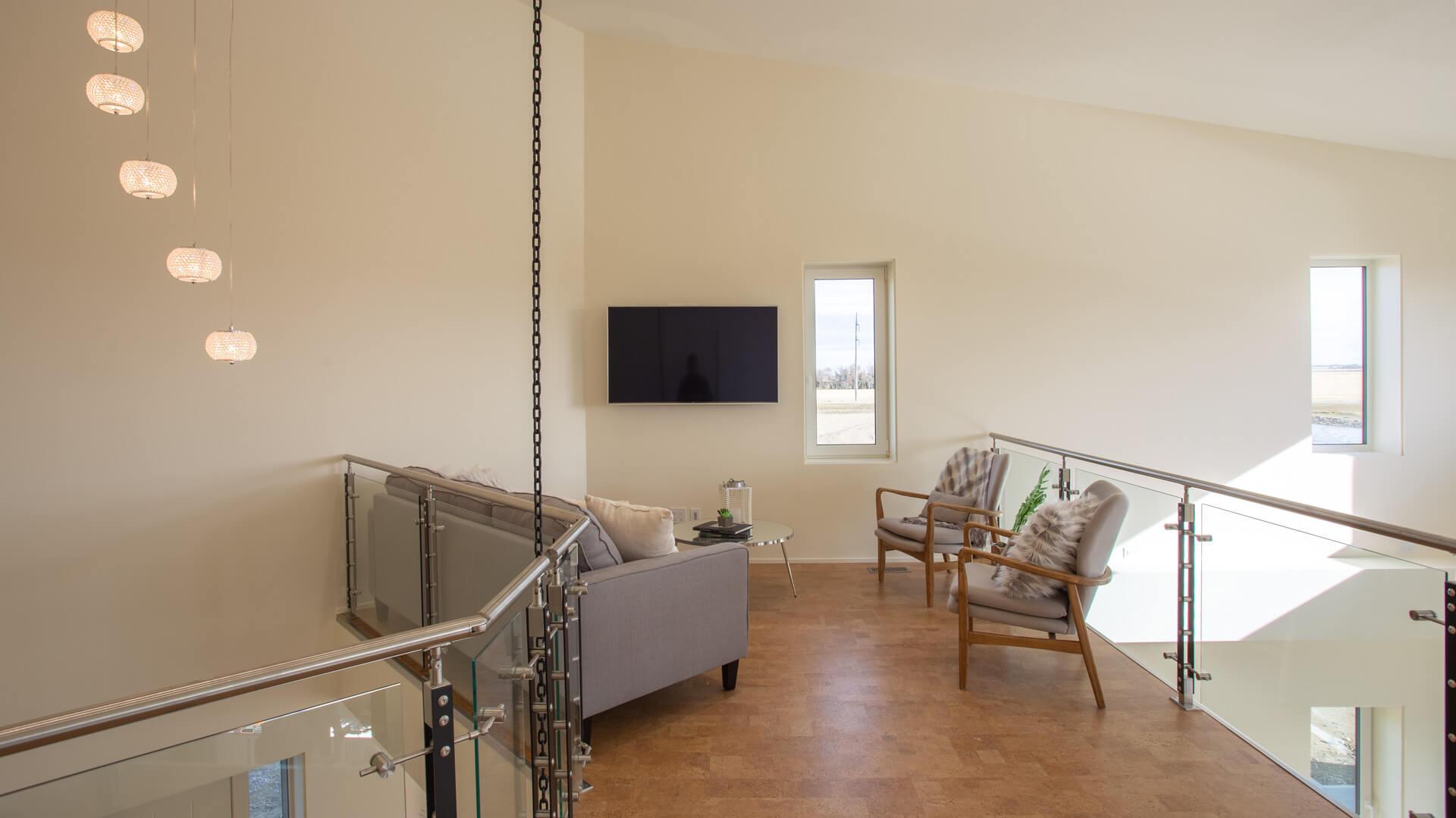 Custom Loft in Net Zero Home