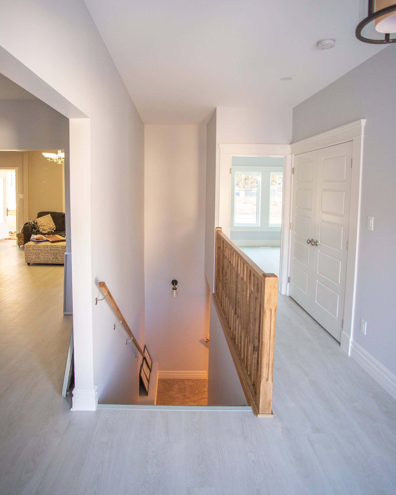 Renovated Entry Way in Lethbridge Addition