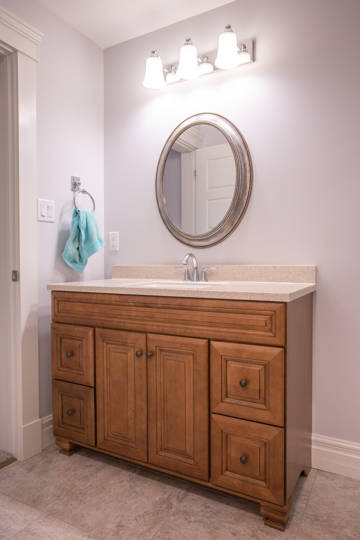 Guest Bathroom in Renovated Lethbridge Home