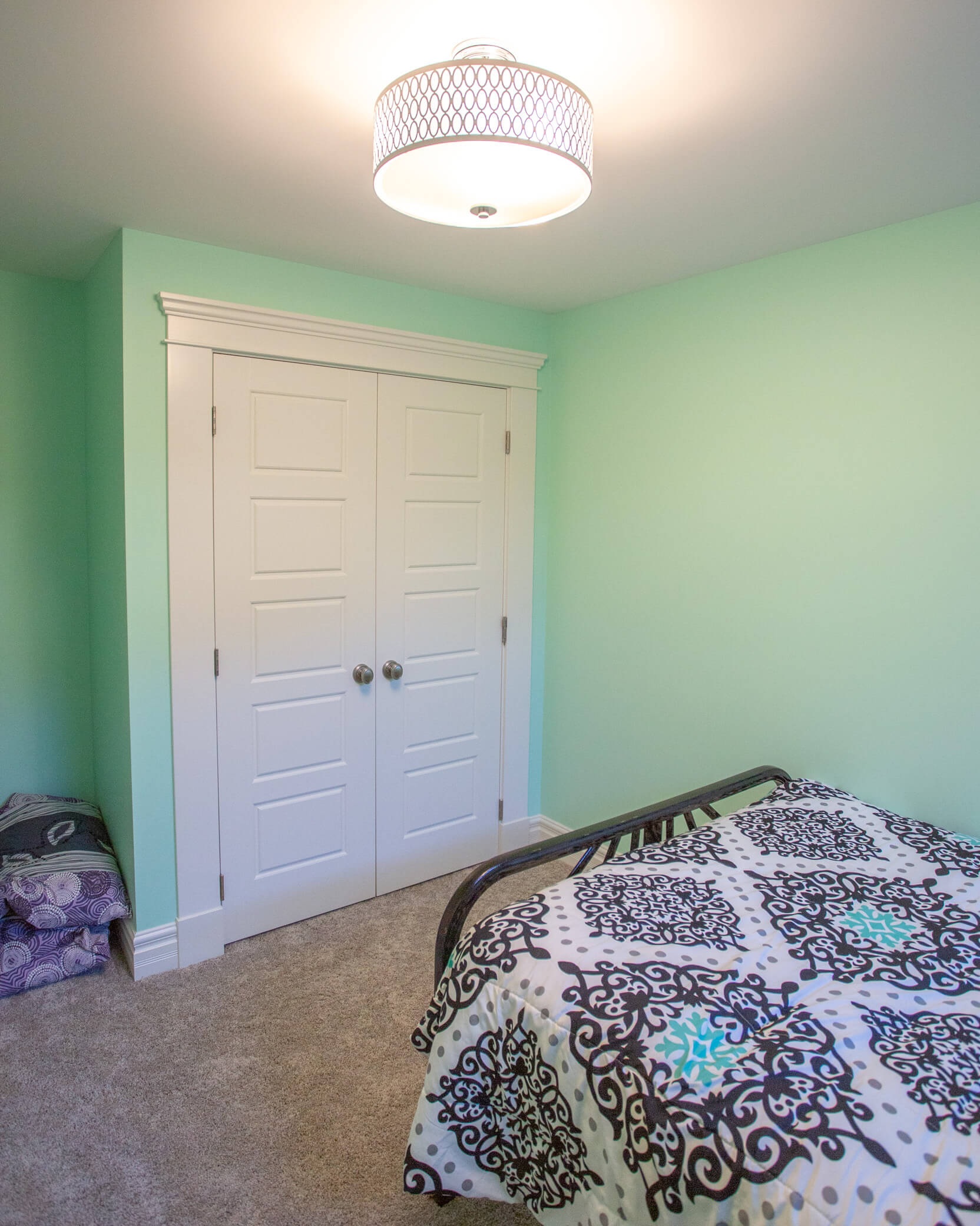 Bedroom in Renovated Addition in Lethbridge Home