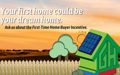 First Time Home Buyer Incentive: Best Time to Build